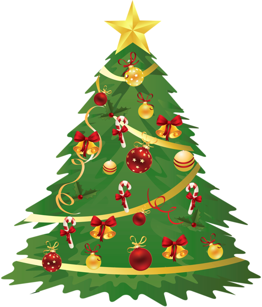 Large_Transparent_Christmas_Tree_with_Ornaments_and_Candy_Canes_Clipart